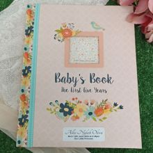 Baby Record Book First 5 Years - Floral