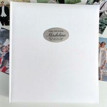 100th Birthday Personalised Photo Album 500 White