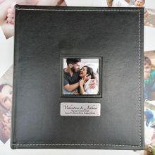 Anniversary Personalised Black Album 5x7 Photo