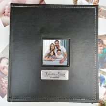 Family Personalised Black Album 5x7 Photo