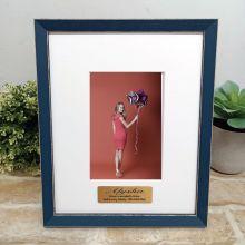 Personalised 13th Birthday Photo Frame Amalfi Navy 4x6