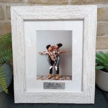 21st Birthday Personalised Frame Hamptons White 5x7
