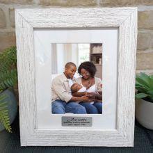 Godmother Personalised Frame Hamptons White 5x7