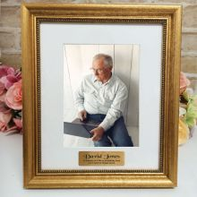 Memorial Personalised Frame 5x7 Majestic Gold