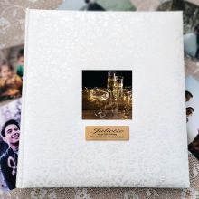 50th Birthday Drymount Photo Album Lace