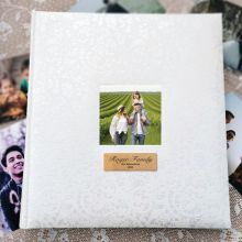 Lace Personalised Drymount Photo Album