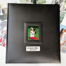 30th Birthday Photo Album 500 Black
