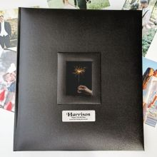 70th Birthday Photo Album 500 Black