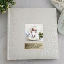 Personalised Baby Cream Lace  Photo Album - 200