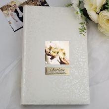Personalised Birthday Photo Album - 300 Cream Lace