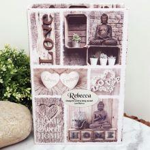 Personalised Stash Box Book - Love