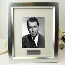 Memorial Personalised Photo Frame 5x7 Photo Silver