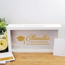 Personalised Graduation Message Box Guest Book