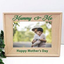 Mum 5 x 7 Photo Frame with Glitter Print