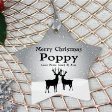 Personalised Pop Christmas Decoration - Star