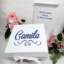 Aunty Keepsake Gift Box White