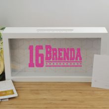 Personalised 16th Birthday Message Box Guest Book
