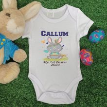 Personalised Easter Bodysuit - Tribal Bunny