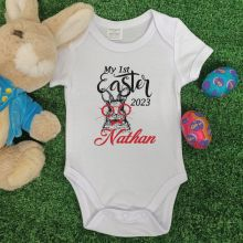 My 1st Easter Bodysuit - Glasses Rabbit