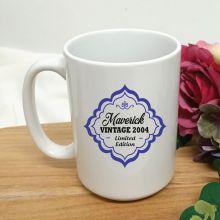 Limited Edition 16th Birthday Personalised Coffee Mug 15oz
