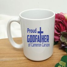 Godfather Coffee Mug Typography Design 15oz