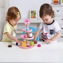 Wooden Dessert Stand - Tooky Toy