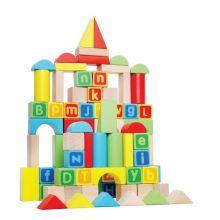 80 piece wooden Block Set - Tooky Toy