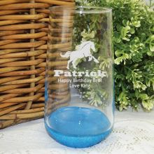 Brother Engraved Personalised Glass Tumbler