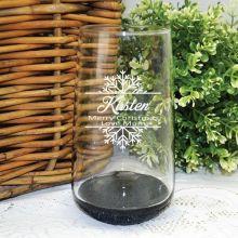 Christmas Engraved Personalised Glass Tumbler 400ml