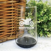 Engraved Personalised Glass Tumbler 400ml (M)
