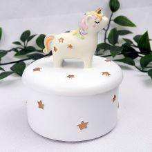 Unicorn Ceramic Trinket bBox