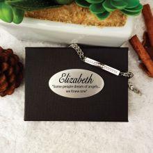 Diamante Memorial Urn Cremation Ash Bracelet In Personalised Box
