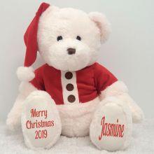 Personalised Christmas Teddy Bear Plush