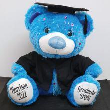 Personalised Graduation Bear Hollywood Blue