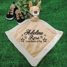 Personalised Baby Security Comforter Blanket -  Kanga
