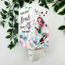 Mermaid Plug-in Night Light Prayer