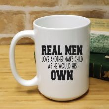 StepDad Personalised Coffee Mug 15oz - Real Men