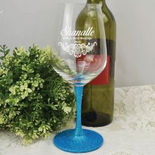 Personalised Wine Glass 450ml (F) Engraved