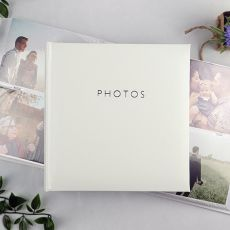 Glamour White 200 Photo Album