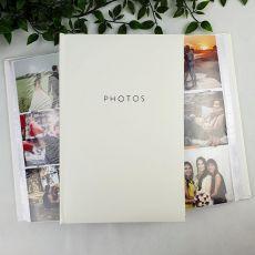 Profile Glamour White Photo Album - 300 Photos