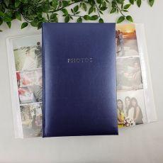 Profile Glamour Blue Photo Album - 300 Photos