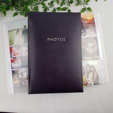 Profile Glamour Black Photo Album - 300 Photos
