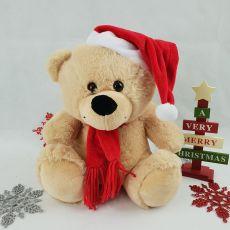 Christmas Plush Santa Bear