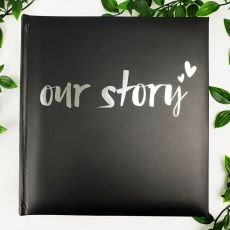 Our Story Photo Album 200 Photo Black