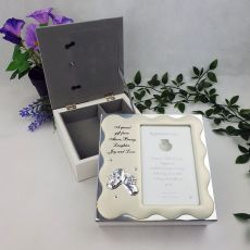 Baby Keepsake Box  with Photo Lid