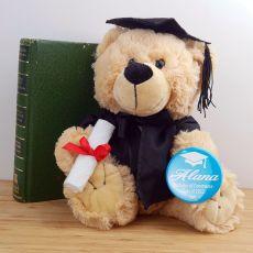 Graduation Teddy Bear with Badge - Buddy