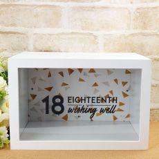 Eighteenth Birthday Wishing Well Card Box