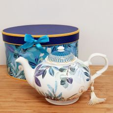 Teapot in Gift Box - Tropical Blue