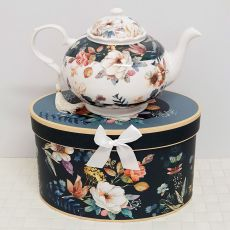 Teapot in Gift Box - Bouquet