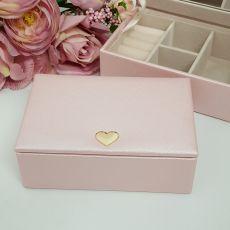 Pink Heart Jewel Box